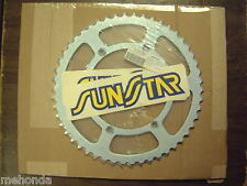 SUNSTAR 50 TOOTH REAR SPROCKET FOR THE 1982-07 KAWASAKI KX125/250