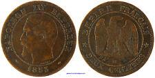NAPOLEON III  ,  2 CENTIMES  1853  MA   MARSEILLE