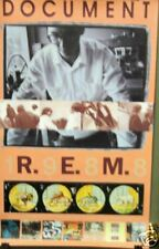 R.E.M. - DOCUMENT Vintage Promo Poster [1988] - VG++