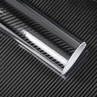 Rotolo pellicola effetto carbonio LUCIDO 5D adesivo sticker car 60x100cm R5D