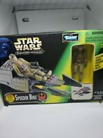 KENNER 1997 Star Wars Expanded Universe Speeder Bike w/ Rebel Pilot