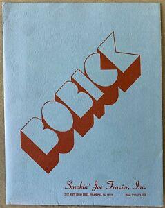 DUANE BOBICK ORIGINAL PROMOTIONAL PRESS KIT (1976)