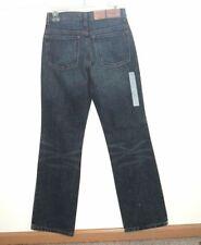 NWT $49 Eddie Bauer Boot Cut Denim Jeans Dark Wash 32 Long Tall Size 2