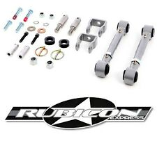 """Rubicon Express 2.5""""- 5.5"""" Quick Release Sway Bar Disconnects 97-06 Jeep TJ LJ"""