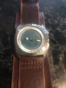 Vintage Fossil watch big tic bg-2059  Please Read description