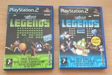 Taito Legends with art card and Taito Legends 2 - Playstation 2 - UK PAL - PS2