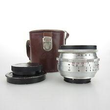 Für Exa Bajonett Meyer Optik Alu Q1 Primagon 4.5/35 Objektiv / lens mit case