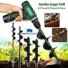 More details for for garden yard earth bulb planter planting auger spiral hole drill bit uk stock