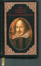 The Complete Works of William Shakespeare Gilt Leather Bound Barnes & Noble 1994