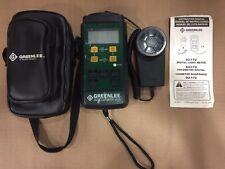 Greenlee Digital Light Meter 93-172 Green Lee Lux Measurement Detector Sensor