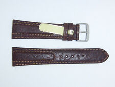 """DI-Modell Genuine Calfskin Leather 22 mm D' BROWN Watch Band """"SIENA"""""""