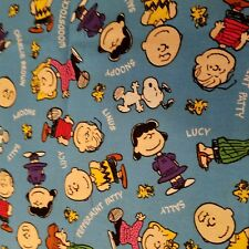 Embroidered Personalized STANDARD Pillowcase  Peanuts Gang