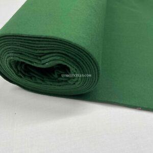 GREEN FELT 100% Baize Fabric Billiards Tables Cards School Crafts Sewing 150cm