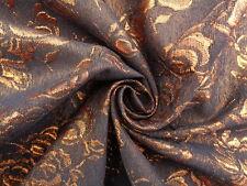 Brocade gigante de bronce' , (por Metro) Vestido Tejido, Costura,