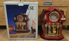 HAPPY HOUSE CLOCK NEW WITH BOX THE HAREWOOD COLLECTION.