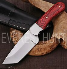 EVEREST HUNT CUSTOM HANDMADE D2 TOOL STEEL HUNTING CAMP SKINNER KNIFE B5-1941