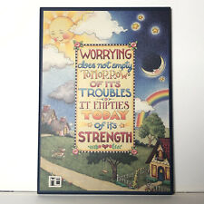 Mary Engelbreit Colorplak Worrying . Empties Today of It's Strength Me 131