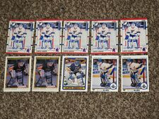 Curtis Joseph 10 RC Card Bundle 1990 OPC Premier Score Topps Rookie Lot 1990-91