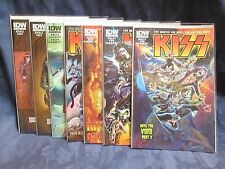 KISS DRESS TO KILL COMICS 1-8 DOUBLE COVERS 16 TOTAL NEVER OPENED