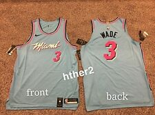 Nike Dwyane Wade Miami Heat Vicewave City Edition Authentic 2020 Jersey 52 56 58