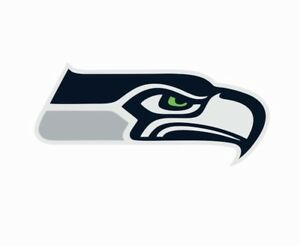 Seattle Seahawks NFL Football Color Logo Sports Decal Sticker - Free Shipping