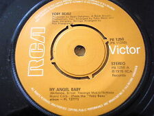 "TOBY BEAU - MY ANGEL BABY  7"" VINYL"