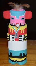 HOPI CORN CARVING GRACE POOLEY ROUTE 66 KACHINA CARVING HOPI FREE SHIP