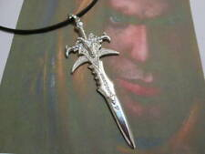 Arthas sword Frostmourne pendant from Warcraft made sterling silver 925-