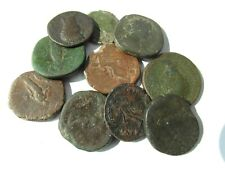 More details for collectable lot of 10 roman bronze coins