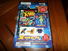 NIP 2006 X-Men Collector's Edition Mini Comic Book / Grow Toy/ Tattoo Wolverine