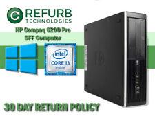 HP Compaq Pro 6200 Desktop Intel i3-2120 3.30GHz 8GB RAM 250GB HDD Win10 Pro