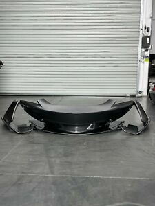 OEM McLaren 570S Front Bumper Assembly with Side Panels