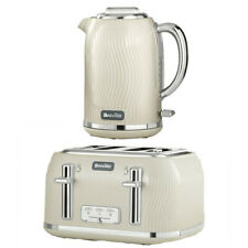 Kettle Slice Toaster Set Kitchen Sale Buy Breville Cream Deal Cheap Gift Kicthen