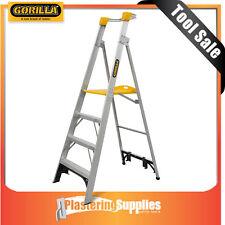 Gorilla Platform  Ladder 1.5m Aluminium  150kg Industrial 5 Step  PL005-I
