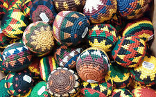 Set of 20 Guatemalan knitted Hacky Sack Footbags