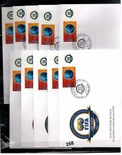 # FRANCE - 10 FDC - SPORTS - SOCCER - FIFA 2004 - WHOLESALE