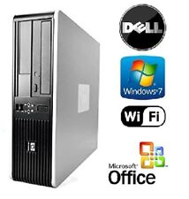 HP DUAL CORE 2 DUO FAST TOWER DESKTOP 8GB RAM 2TB WINDOWS 7 COMPUTER MS OFFICE