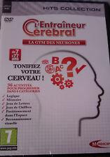 """JEU PC """"L'Entraîneur Cérébral"""" (La Gym Des Neurones) Réflexion NEUF SOUS BLISTER"""
