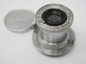 Leica 50mm f3.5 Elmar lens L39 Screw Fitting