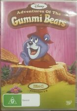 DISNEY ADVENTURES OF THE GUMMI BEARS 1 RARE DELETED DVD CARTOON ANIMATION SERIES