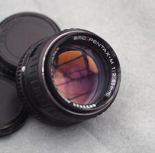 ASAHI OPT. CO. SMC PENTAX-M 85 mm F/2 Portrait lens (pentax K fit)