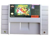 Mickey Mania: The Timeless Adventures of Mickey Mouse SNES AUTHENTIC Works Clean