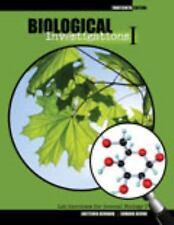 Biological Investigations I: Lab Exercises for General Biology I, DEVINE  EDWARD