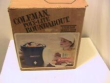 Vintage 1983 Blue Coleman Model 5520 - 706 3 Gallon Roundabout Cooler With Box