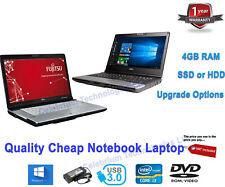 Cheap Fast STUDENT Netbook LAPTOP Dual| i3| i5 |8GB| 256GB SSD| Webcam| Win 10