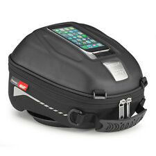 Givi  ST602 Tanklock Motorcycle Sports Touring 4Ltr Tank Bag - Black
