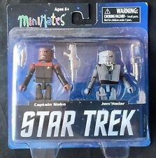 Star Trek Minimates Captain Sisko & Jem'Hadar 2 Pack w/Loose Blister Card