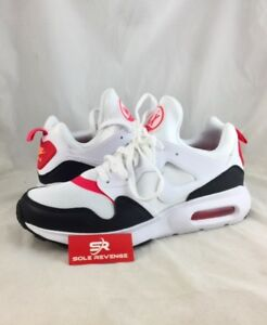 8 NEW Mens Nike Air Max Prime Running Shoes White/Siren Red/Black 876068-102
