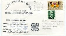 USCGC Evergreen Ice Patrol Oceanographic Survey Polar Antarctic Cover SIGNED