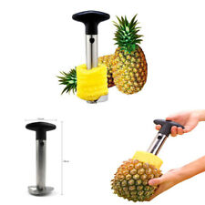 Stainless Steel Pineapple Corer Knife Peeler Slicer Fruit Cutter Kitchen Gadget